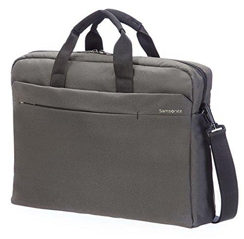 "Samsonite Cartella Network 2 Laptop Bag 17.3"" 17 liters Grigio (Iron Grey) 51885-1449 Iron Grey"
