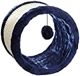 Trixie Griffoir Rouleau Sisal/Peluche Diamètre 23 × 20 cm Bleu pour Chat