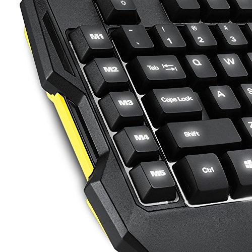 Sharkoon Shark Zone K30 Gaming-Tastatur mit LED-Beleuchtung schwarz - 3