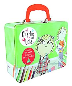 Charlie And Lola : The Absolutely Complete Series 1 (4 DVD Set In Tin Lunchbox Gift Set)