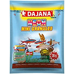 Dajana Neon mini granulés Nourriture pour poissons granuliertes Premium de Nourriture Principale