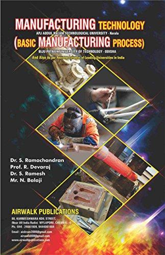 Basic Manufacturing Process (English Edition)