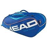 HEAD Schlägertasche Tour Team 6R Combi, Blau, 77 x 26 x 35 cm, 55 Liter, 283265-bl