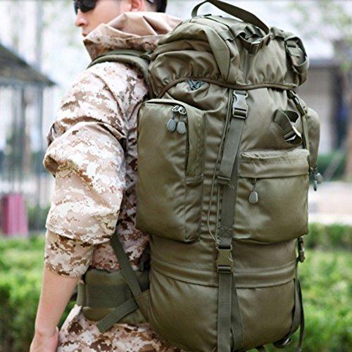 Outdoor-Taschen Bergsteigenbeutel Männer Und Frauen Rucksäcke Reisetaschen Große Kapazität Tactical Mountain Tourism 07 Rucksack - Tasche Für Mann Shouder