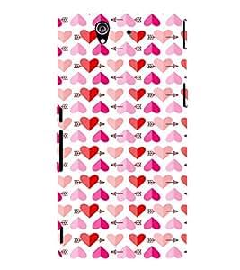 EPICCASE Couple love case Mobile Back Case Cover For Sony Xperia Z (Designer Case)