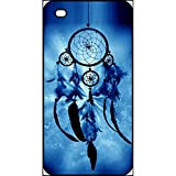 Coque apple iphone 4s attrape rêve blue