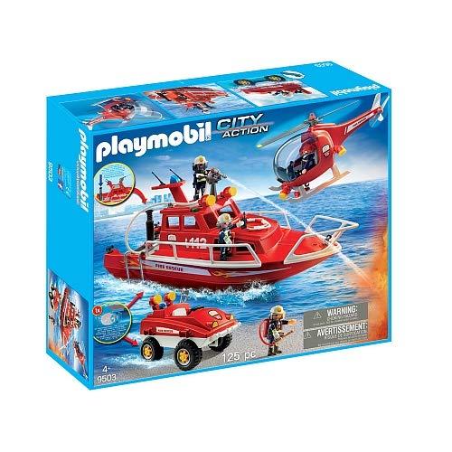 Playmobil – Neuheit 2018 – Spezialeinheiten Feuerwehrmann 9503