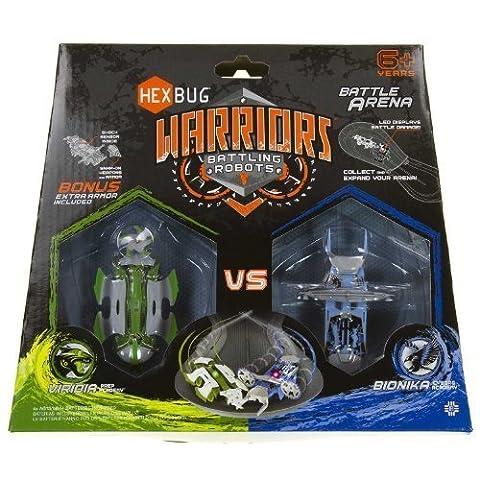 Hexbug Guerriers De Combat Robots Bataille Arena: Viridia Contre Bionika