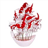 #5: JaipurCrafts Premium New Arrival Forever Collection Artificial Flowers with Pot