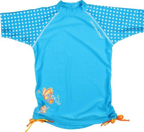 Zunblock Kinder Shirt Uv-schutzkleidung, Türkis, 134