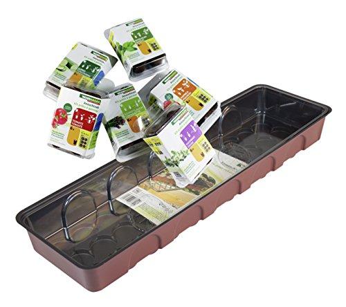 Windhager Kit de Culture Légumes et Herbes aromatiques 54 x 16 x 12 cm Gemüse und Kräuter