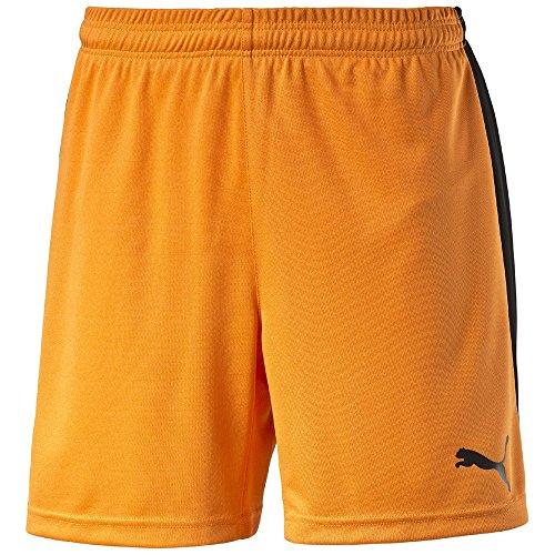 Puma Jungen Short Pitch m. Innenslip 702075 team orange-black 116