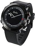 Cogito CW2.0-020-01 Smartwatch - Silicone + Nylon - Black Onyx