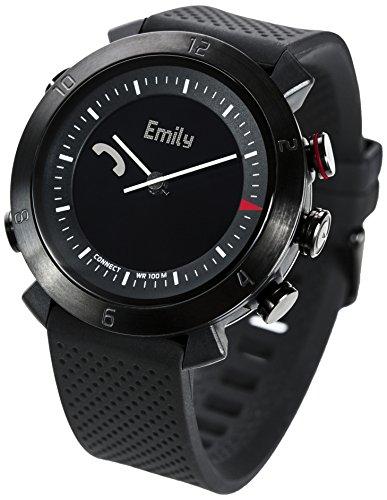 Cogito CW2.0-020-01 Smartwatch - Silicone + Nylon - Black Onyx -