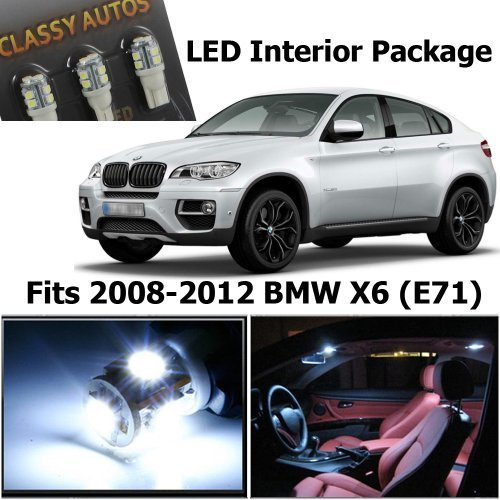 classy-autos-bmw-x6-white-led-lights-interior-package-kit-m-e71-16-pieces-by-classy-autos