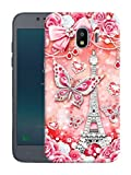 Best Phone Case and Gift Friend Phone Cases Galaxies - Humor Gang Paris Eiffel Tower Glowing Red ButterflyPrinted Review