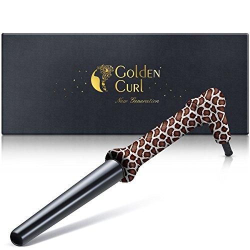 Golden Curl GL506 Boucleur de Cheveux Fer a Friser Curly Hair Professionnel Conique pour tous types de cheveux - Garantie 5ans (Girafe)