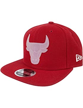 New Era 9Fifty NBA Chicago Bulls Transparent Logo Snapback Cap