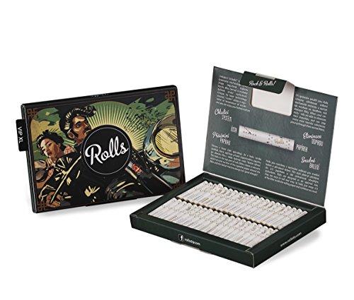 Rolls Smart Filter Tips fertig vorgerollter Filtertip,  80 Stück (5mm) VIP Pack XL (Grün) -