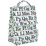Bolsa para el almuerzo diseño de alfabeto