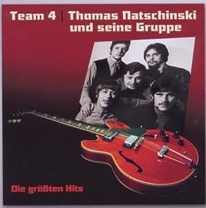 Team 4 und Thomas Natschinski Gruppe-die Gr.Hits - Thomas