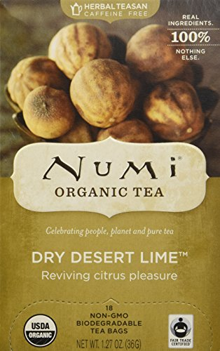 Numi Tea Dry Desert Lime Teasan, Lime 18 bags