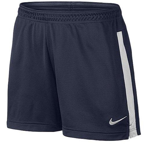 Nike Womens Academy Knit Short Medium Obsidian/White -