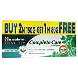 #10: Himalaya Herbals Complete Care Toothpaste - 150 g (Buy 2 and Get 1 Free Worth Rupees 80 g)