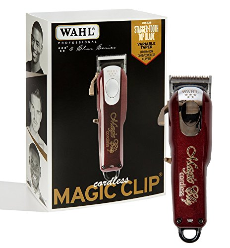 WAHL 43917814810 Haarschneidemaschine Magic Clip Cordless schwarz/Gold - 2,5 Mm Clip