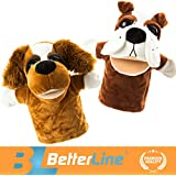 Better Line Animal Hand Puppets Set Of 2- Premium Quality - B06ZZHPZQ3