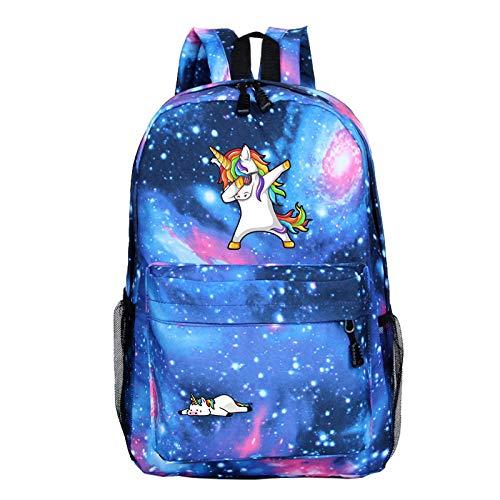 Kinder-sky Blue Camouflage (QYYDSB Kinder Tasche Jungen Rucksack Kinder Schultaschen Reisetasche Einhorn Laptop Rucksack Für Mädchen Sky Blue)