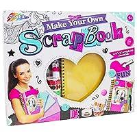 Grafix MYO Design Set Make Your Own Personal Scrapbook Childrens Craft Kit Scrap Book, Multi