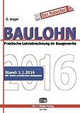 Baulohn 2016: in der betrieblichen Praxis