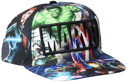 Avengers-2200002043 Gorra premium New Era, 58 cm, color multicolor (multicolor 001), 3 (Tamaño del fabricante:M) (Artesanía Cerdá 2200002043)