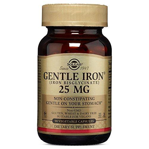 Solgar Hierro Gentle Cápsulas vegetales de 20 mg - Envase de 90