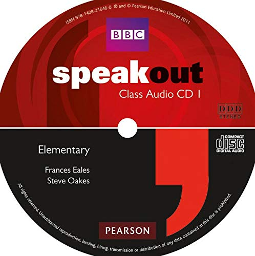 Speakout Elementary Class CD (x2)