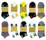 Spring fever - Calcetines de deporte - para hombre multicolor No Show Socks 3 Pack Talla única