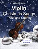 Violin Christmas Songs: TABs and Chords