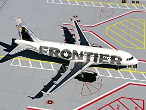 Daron G2FFT054 Gemini200 Frontier A319 - Wolf Tail