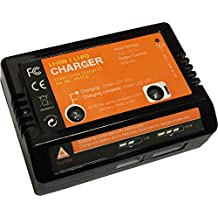 Acme AirAce HS1132 - Cargador de baterías Li-Po (con estabilizador de 2-3 celdas, entrada de 12 V)