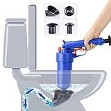 WC-Gewicht, Air Drain Blaster, Druck Pumpe von, Hohe Druck Plunger Öffner Reiniger Pumpe mit 4blockiert Kopf für Badewanne Toiletten, Badezimmer, Dusche, Küche Verstopft, Rohr, Badewanne
