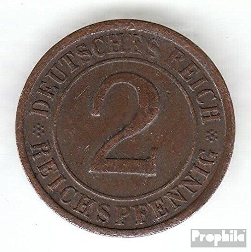 Deutsches Reich Jägernr: 314 1936 F sehr schön Bronze 1936 2 Reichspfennig Ährengarbe (Münzen für Sammler) -