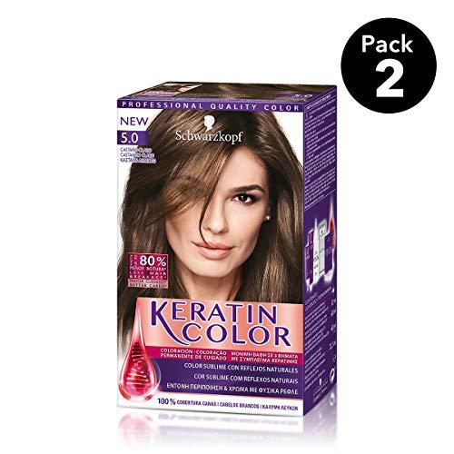 Keratin Color Schwarzkopf - Tono 5.0 Castaño Claro