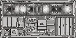 Eduard Accessories 7331430502000CH de 47A Chinook Interior para Trumpeter Montar