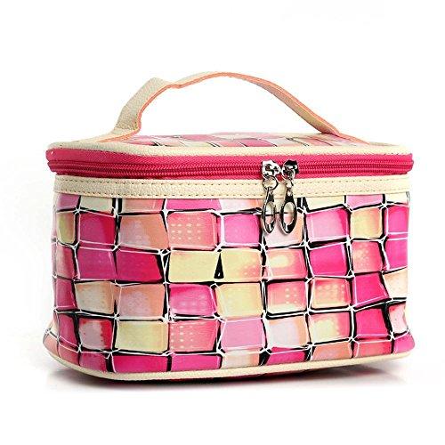 db5cbd9586 Luziang Neceseres de Viaje,Bolsa de cosméticos Europa y el Bolso de Mano  Bolsa de cosméticos Estados Unidos Adecuado para Viajes