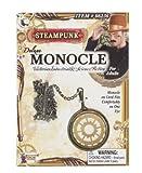 Steampunk Lunettes Monocle Deluxe Accessoire pour déguisement