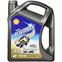 Shell Advance Ultra 4T 15W-50/4-Liter-Kanister
