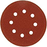 Hawe Hawera - 5 Dischi Abrasivi Per Levigatrici - Forate - 125 Millimetri - Grana 80