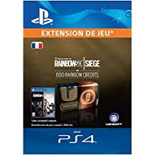 Tom Clancy's Rainbow Six Siege Currency pack 600 Rainbow credits  [Code Jeu PS4 - Compte français]
