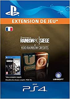 Tom Clancy's Rainbow Six Siege Currency pack 600 Rainbow credits [Code Jeu PS4 - Compte français] (B074FGNXDT)   Amazon price tracker / tracking, Amazon price history charts, Amazon price watches, Amazon price drop alerts
